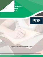 Plano de Aula Interdiciplinar Matematica