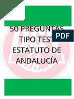 50 Preguntas Test Estatuto de Autonomía Para Andalucía