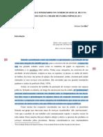 [CAVILHA, J.] Lugares, Fluxos e Itinerários No Comércio Sexual de e Na Rua - Redes Sociais Na Cidade de Florianópolis