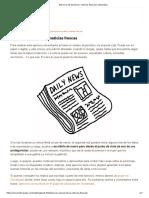 Ejercicio de Escritura_ Noticias Frescas _ Literautas