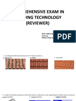 Building technology reviewer
