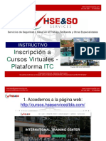 Instructivo Cursos Virtuales