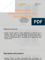 Proyecto Final Análisis Estructural