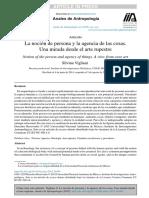 Vigliani, Silvia (2015) - La Noción de Persona y La Agencia de Las Cosas. Una Mirada Desde El Arte Rupestre