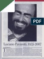 Luciano Pavarotti Su Historia