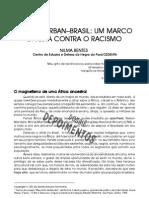 Brasil-durban-brasil Um Marco Contra o Racismo