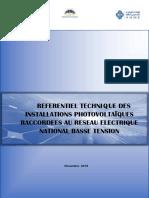 Referentiel Technique Des Installations PV HT