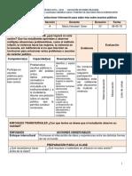 SESION - Aprendemos a Seleccionar Información Para Saber Más Sobre Asuntos Públicos- 06-05-19