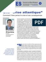 """Une """"crise atlantique"""""""