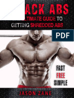 6-Pack Abs_ the Ultimate Guide to Getting Shredded Abs - Fast, Free and Simple - Jason Zane- (Croker)