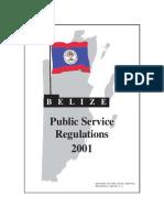 Public Service Regulaion