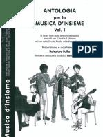 Failla - Antologia per la musica d'insieme vol.1