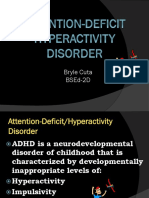 ATTENTION DEFICIT-HYPERACTIVITY DISORDER