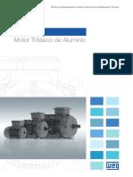 WEG w11 Motor Trifasico de Aluminio 50042645 Brochure Spanish Web