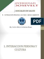 Interacción Persona, Cultura y Medio Ambiente