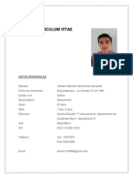 Curriculum Vitae Herbert Monterrosa