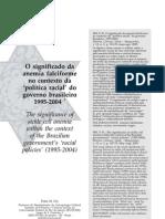 O significado da anemia falciforme na política racial