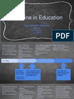 timeline in education  1   1