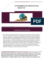 Inversiones Extranjeras en México en El Siglo XIX Sociologia123
