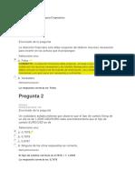 Examen Inicial de Finanzas Corporativas