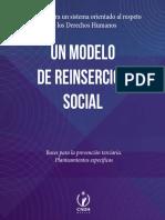 Un modelo de reinserción social