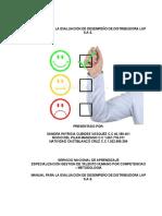 Manual Para Evualuación de Desempeño