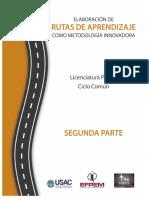 2 parte Guía Rutas de Aprendizaje como Met. Inno