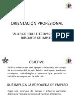 Diapositivas Redes Efectivas Para La Búsqueda de Empleo