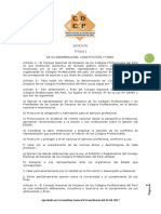 Estatuto CDCP Aprobado El 24 Abril 2017