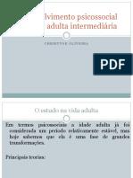 Adulto Intermediário - Desenvolvimento Psicossocial