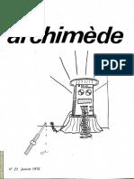Le Petit Archimede 23