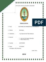 factores de formación de suelo