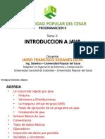 Sesion 3 - Introduccion a Java 2