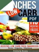Resumo Lanches Low Carb 110 Receitas Faceis Receitas Low Carb Emagrecer Doces Salgados Vitaminas 4ba7