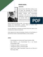 Edmund Husserl 2