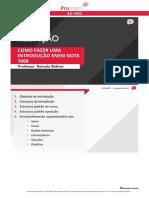 (REDAÇÃO)como fazer uma introdução nota mil.pdf
