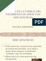 El Impacto de La Discapacidad en Los Padres