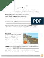 Rock cycle worksheet 2.doc