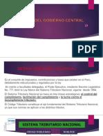 Tributos Del Gobierno Central