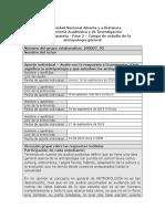 Formato Respuesta FINAL- Fase 2 - La Antropología y Su Campo de Estudio