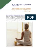 Beneficios Del Yoga