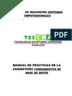 Manual de Practicas Base de Datos