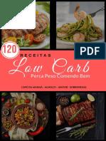 amostra grátis  120 receitas low carb
