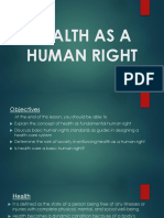 HEALTH AS A HUMAN RIGHT (Mickie Milleza).pptx