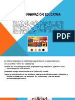 Calidad e Innovacion Educativa