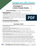 Art 18 Advantages of Anotec Z Series Anodes Rev00