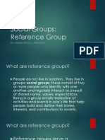 Social Groups Reference Group