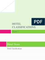 Chapter 2 - Hotel Classifications