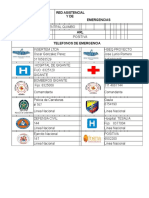 Listado Telefonos de Emergencia