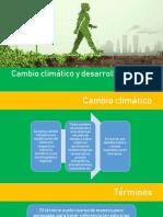Desarrollo Sostenible y Cambio Clima